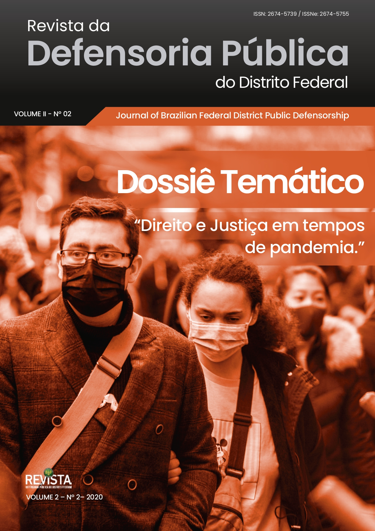 capa da Revista da Defensoria Pública