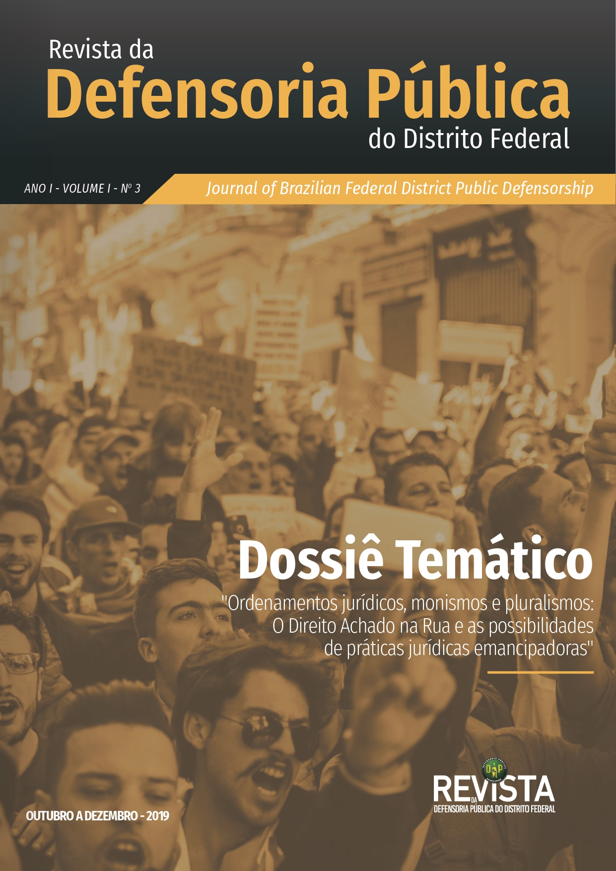 Capa da Revista da Defensoria Pública do Distrito Federal